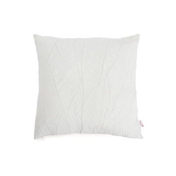 Mika Barr - Pinion Cushion Cover, 45 x 45 cm, white