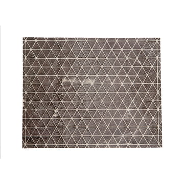 Mika Barr - Ilay Tablemat, 50 x 40 cm, white / black