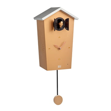 KooKoo - Bird House Cuckoo Clock, gold (limited edition)