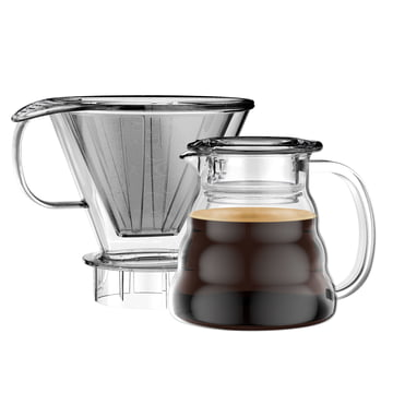 Melior Coffee Dripper with Permanent Filter