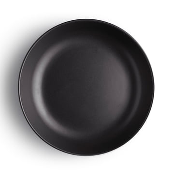 Eva Solo - Nordic Kitchen Deep Plate Ø 20 cm, black