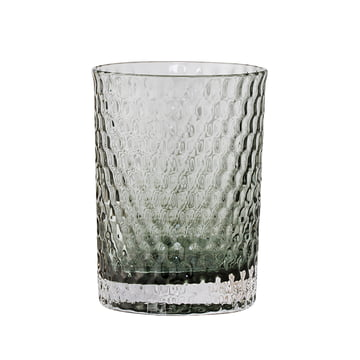 Bloomingville - Glass Toothbrush Holder, grey