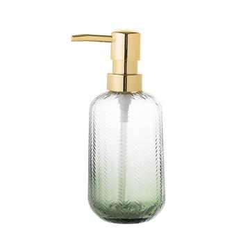 Bloomingville - Glass Soap Dispenser, green