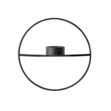The Menu - Pov Circle Tealight Holder, S in black