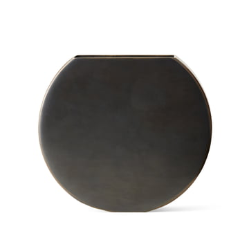 Moon Vase by Menu in Burnished Brass