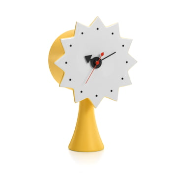 Ceramic Clock Model #2 by Vitra in Yellow
