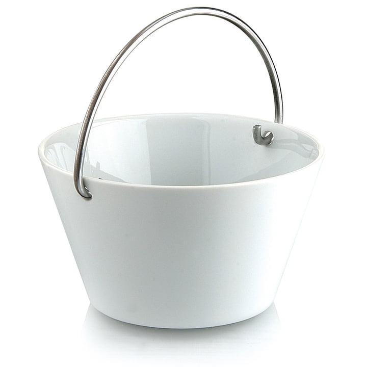 Eva Solo Porcelain Bowl with Handle - 0.5l - white
