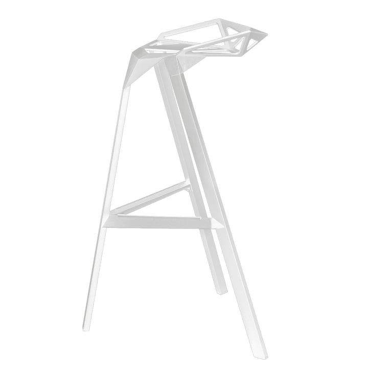 The Magis Stool One - Seat Height 67 cm in White