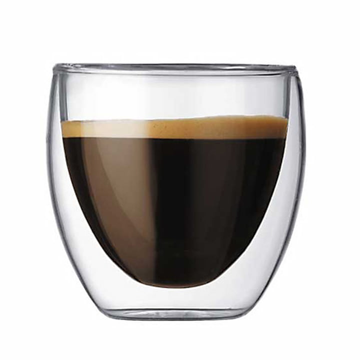 Bodum Pavina, double-walled drinking glass 0.8 dl