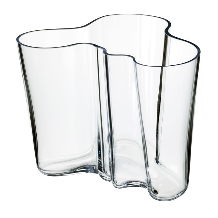 Aalto Vase Savoy 160 mm from Iittala in clear