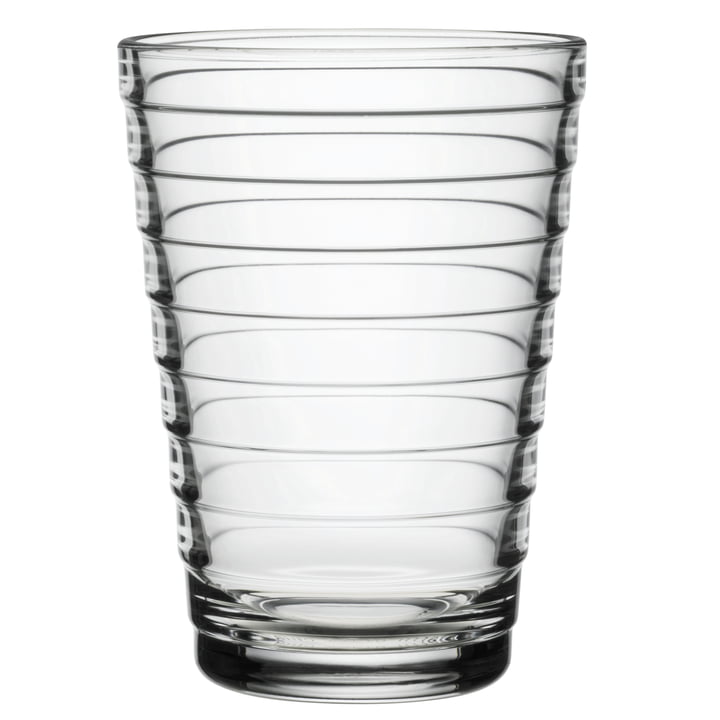 Aino Aalto long drink glass 33 cl from Iittala in clear