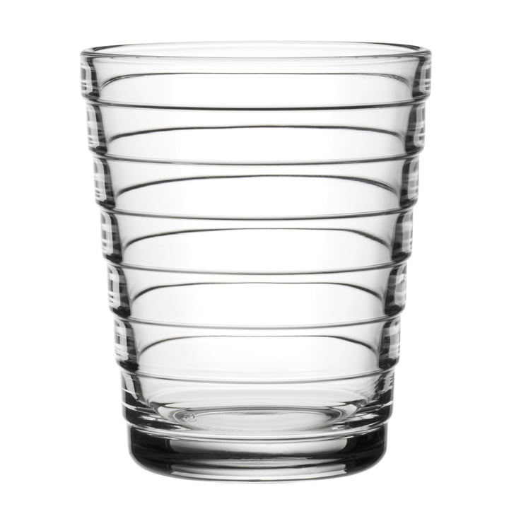 Aino Aalto Glass tumbler 22 cl from Iittala in clear