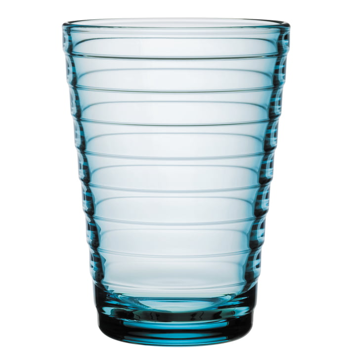 Aino Aalto long drink glass 33 cl from Iittala in light blue