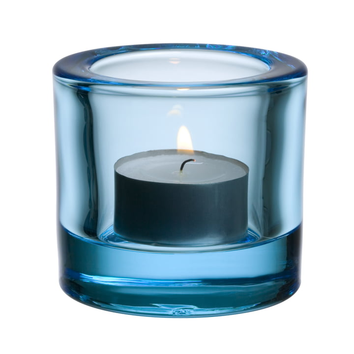 Iittala - Kivi tea light holder, light blue