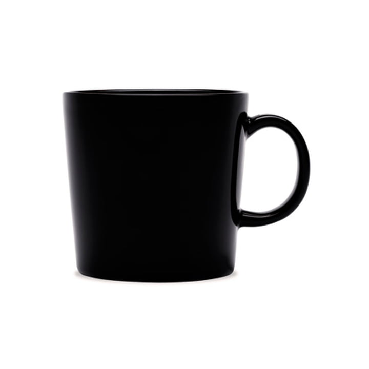 Teema Mug with Handle 0,3 l by Iittala in Black