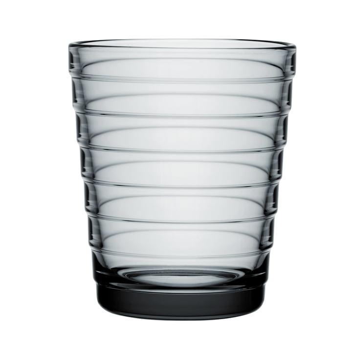 Aino Aalto Glass beaker 22 cl from Iittala in grey