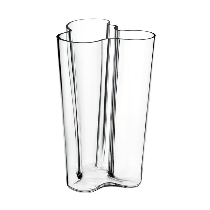 Aalto Vase Finlandia, clear 251mm