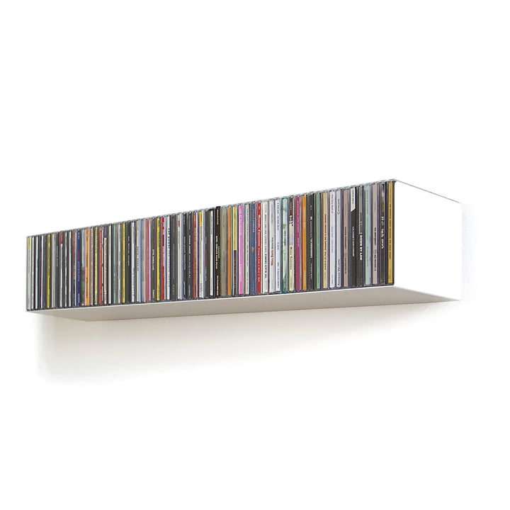 linea1 b CD-shelf, white