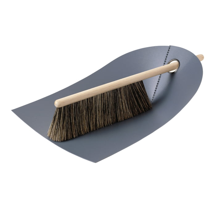 Dustpan and Brush, dark grey