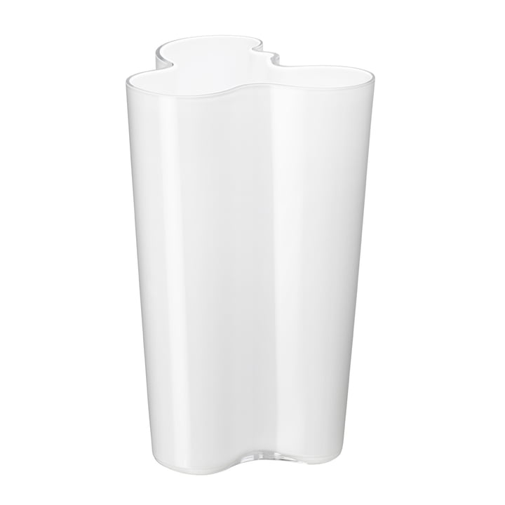 Aalto vase Finlandia 251 mm from Iittala in white