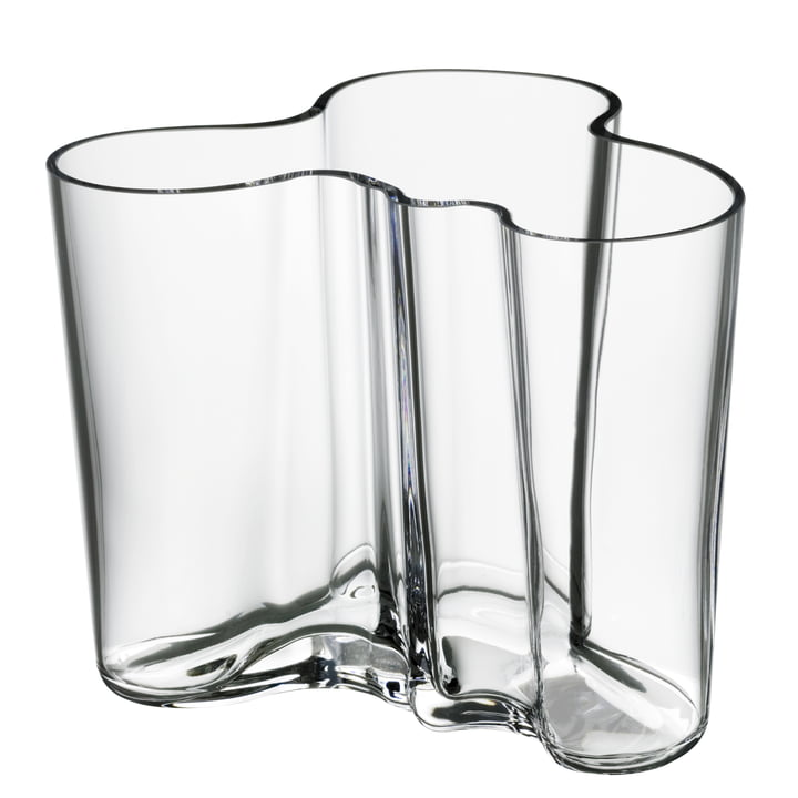 Aalto Vase Savoy, clear 120mm