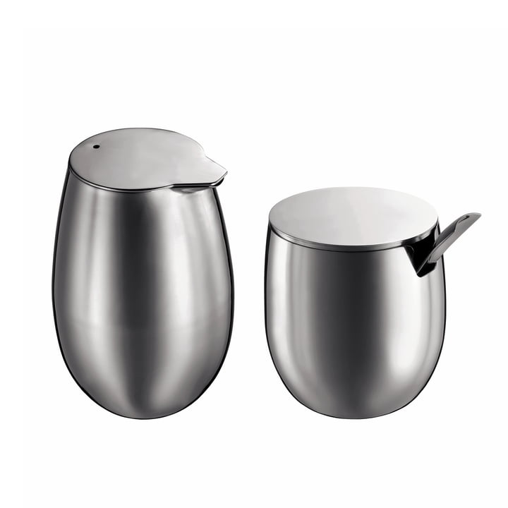 Bodum Columbia, milk and sugar, matte and polished