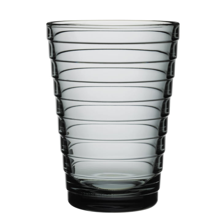 Aino Aalto Longdrink glass 33 cl from Iittala in grey