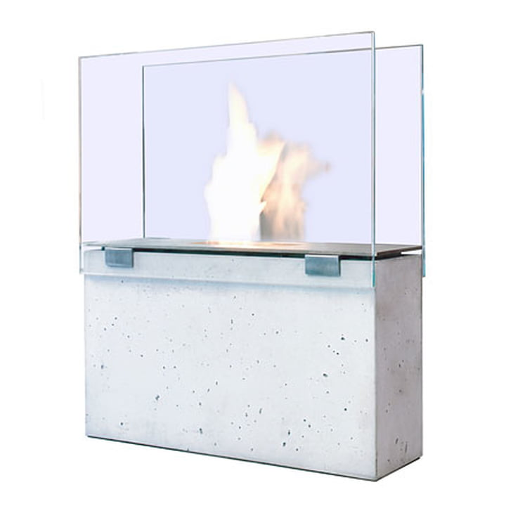 Conmoto Fireplace Muro - with glass