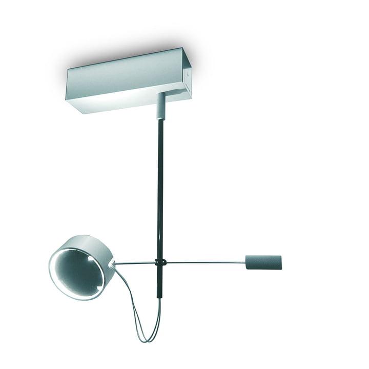 Absolut WCF 1er ceiling lamp - matt chrome