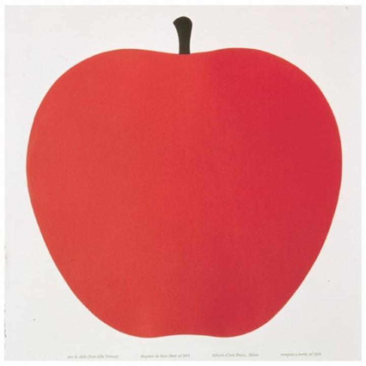 """Danese - graphic art """"Uno, la mela"""""""