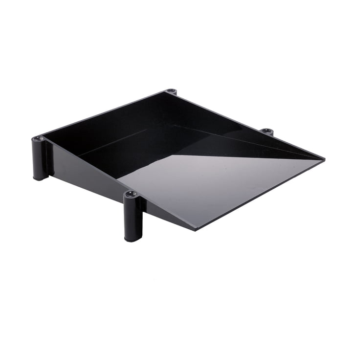 Sumatra desk tray, black