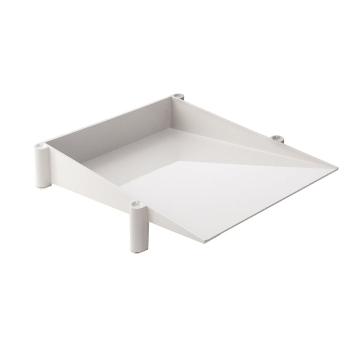 Sumatra desk tray, white