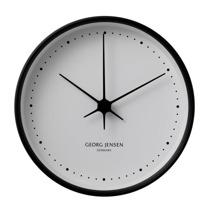 Henning Koppel wall clock ø22cm - black / white