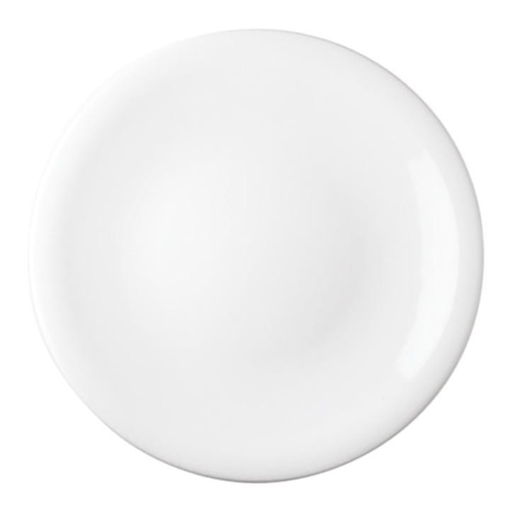 Update - dinner plates, white