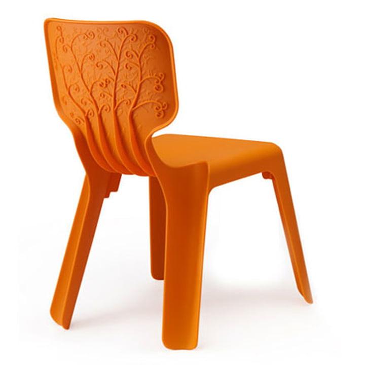 Kinderstuhl Alma, orange