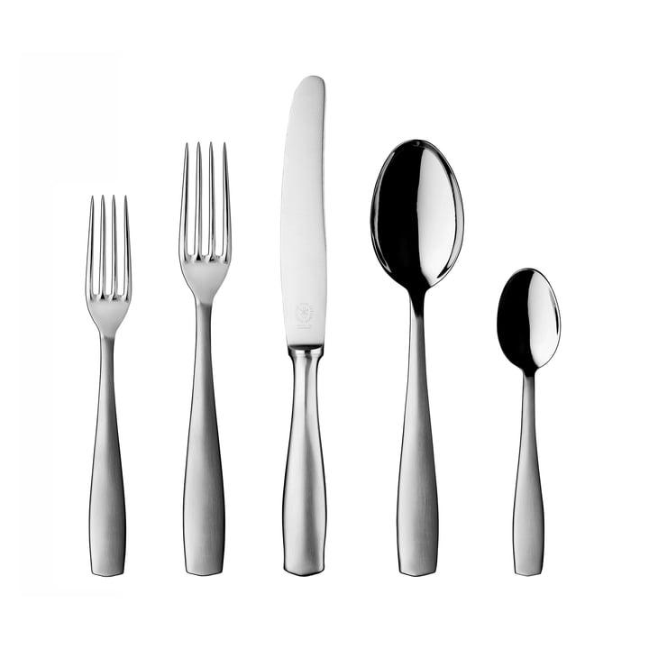 Pott 16, stainless steel, table cutlery 30 pcs.