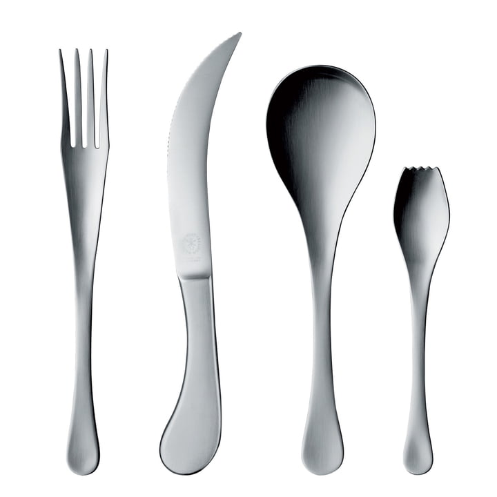 Pott 29, stainless steel, cutlery set 4 pcs.