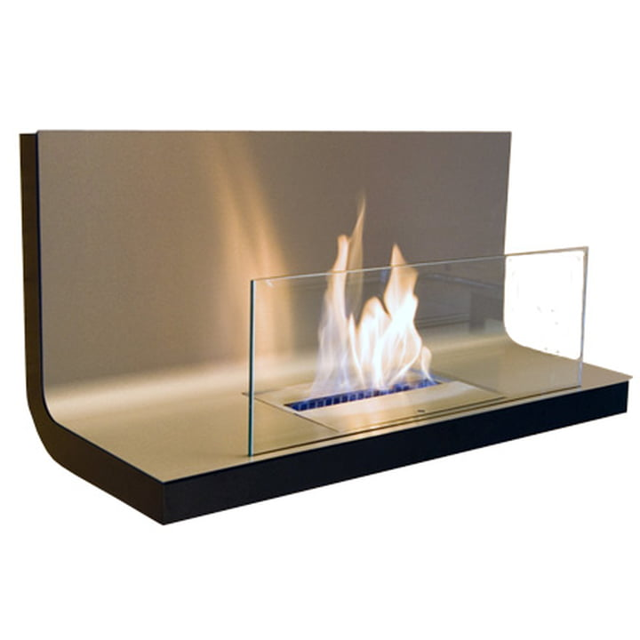 Wall Flame I - stainless steel