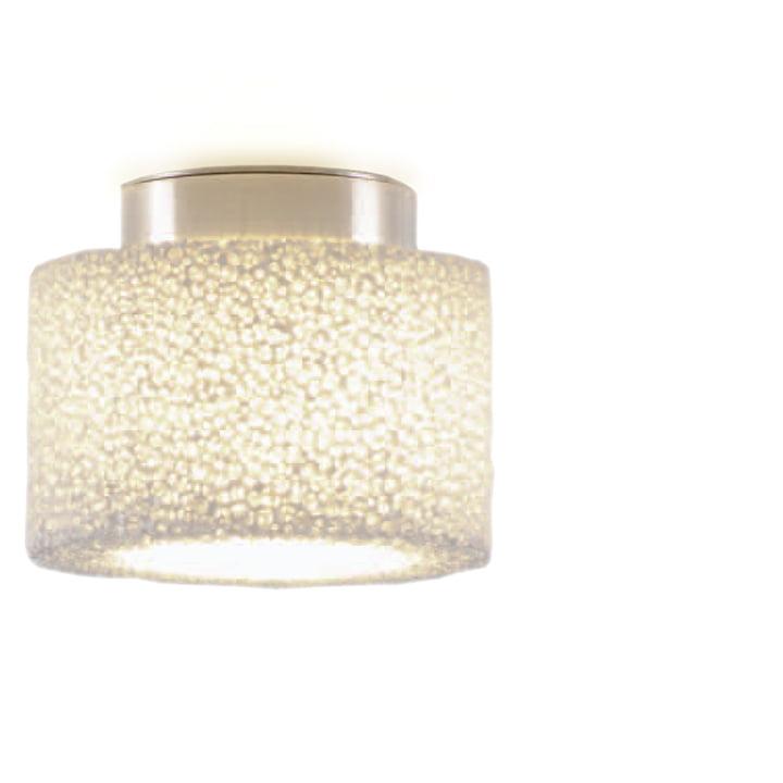 Reef Halogen ceiling light from serien.lighting brushed aluminium