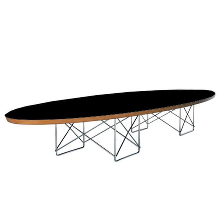 Elliptical Table - HPL black