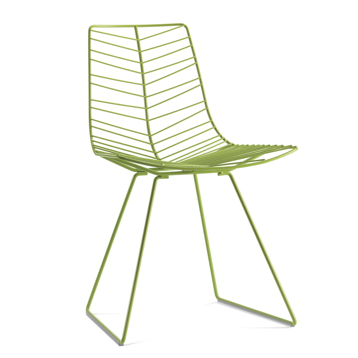 Arper Leaf chair, green