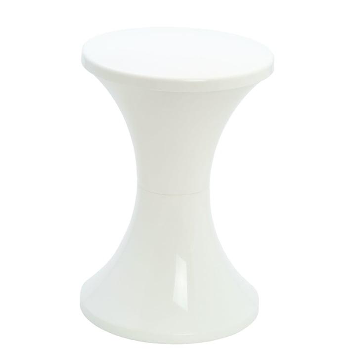 Tam Tam Pop - stool, white