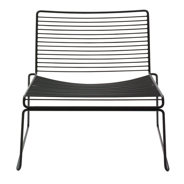 Hee Lounge Chair by Hay in black
