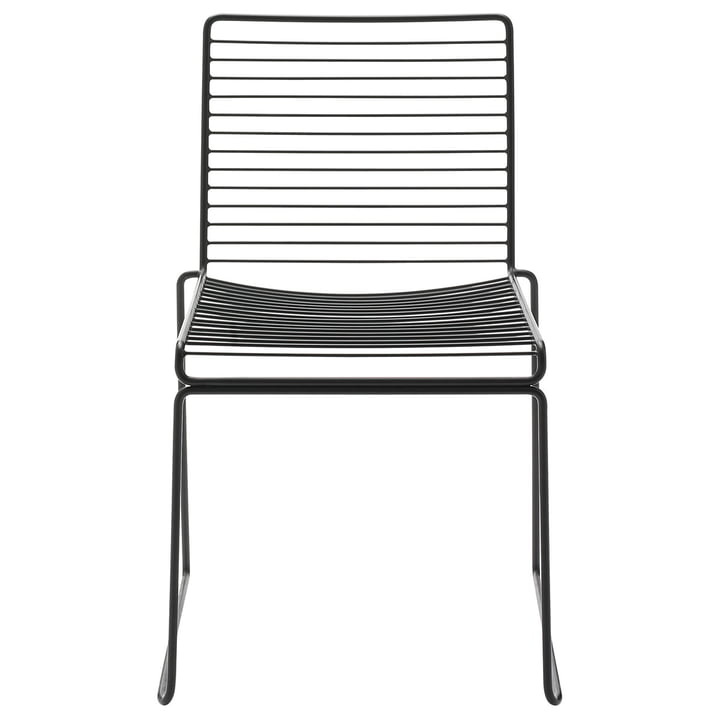 Hee dining table chair by Hay in black