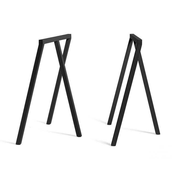Hay - Loop Trestles Stand Frame, black (2 pcs.)