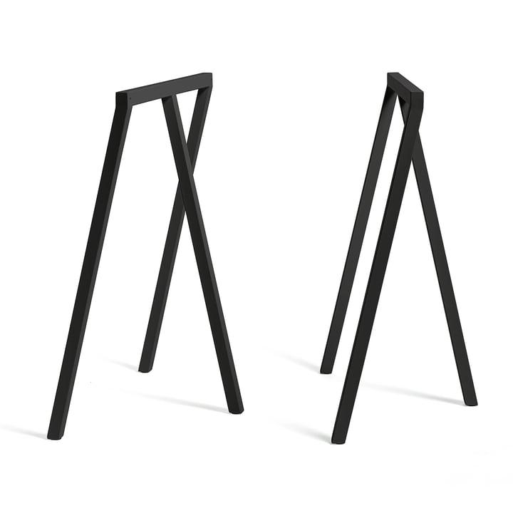 Hay - Loop Trestles Stand Frame High, black (2 pcs.)