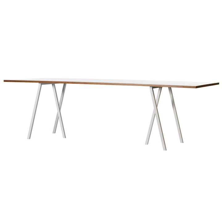 Hay Loop Stand table, white