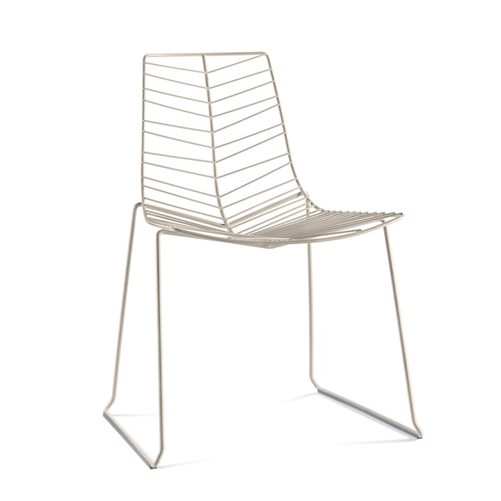 Leaf chair (stackable), white