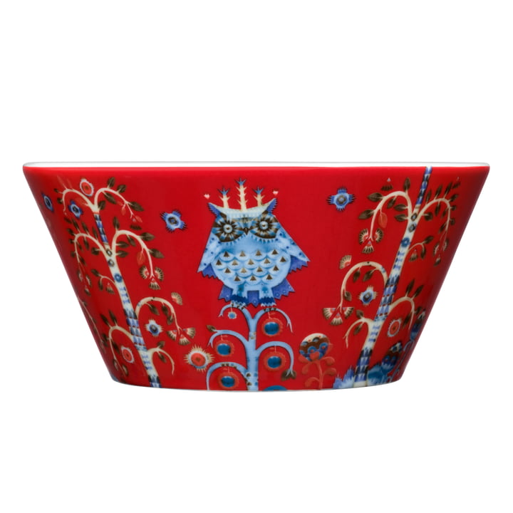 Taika red - bowl (0.6 L)