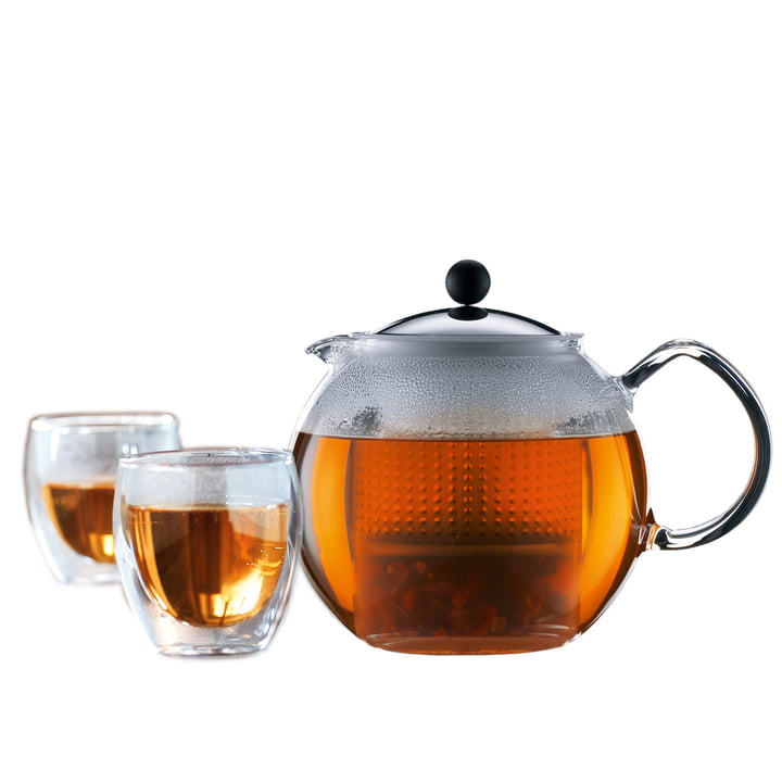 Bodum Assam Tea Set (Tea Maker and Glasses) special offer!
